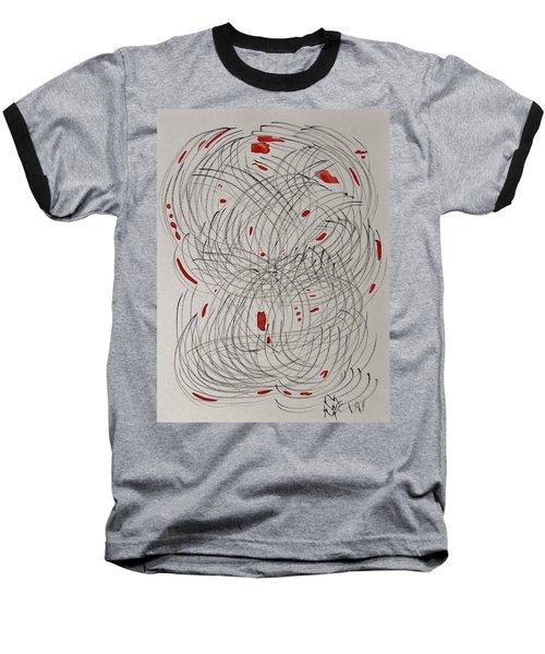 Red Fan Baseball T-Shirt