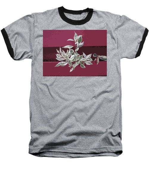 Baseball T-Shirt featuring the photograph Red Fence by Donald S Hall