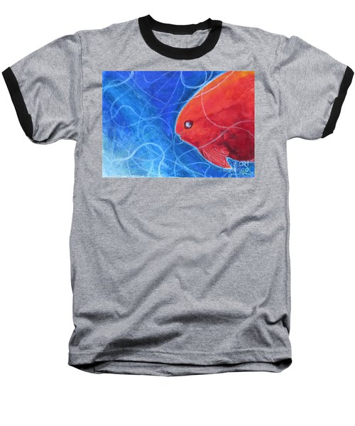 Red Fish Baseball T-Shirt