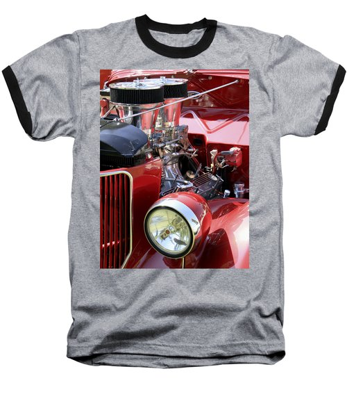 Red Ford Baseball T-Shirt