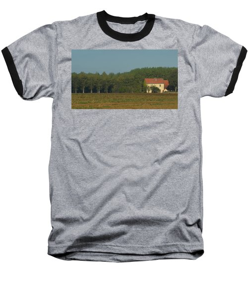 Red French Cottage Baseball T-Shirt