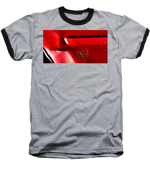 Red Gash Baseball T-Shirt