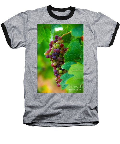 Red Grapes Baseball T-Shirt