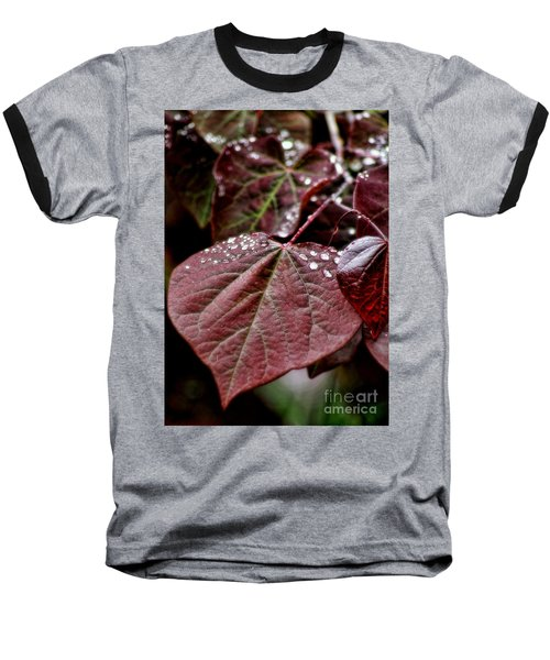 Baseball T-Shirt featuring the photograph Red Heart by Peggy Hughes