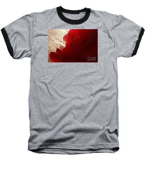 Red Ice Baseball T-Shirt