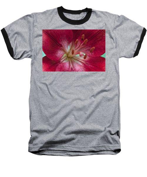Red Lily Baseball T-Shirt