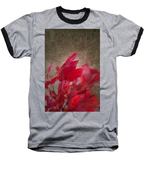 Red Maple Dreams Baseball T-Shirt
