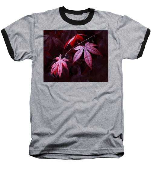 Red Maple Trio Baseball T-Shirt