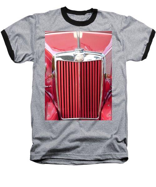 Red Mg Baseball T-Shirt