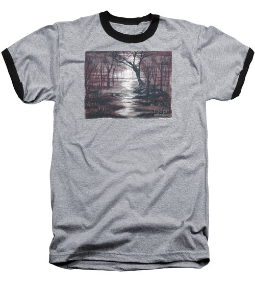 Red Mist  Baseball T-Shirt