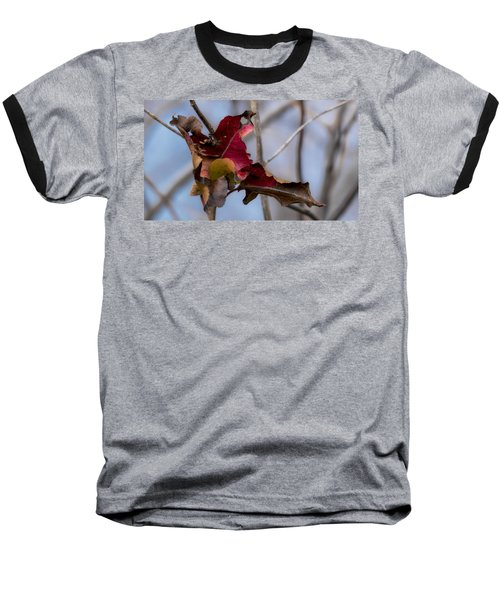 Red Over Branch Baseball T-Shirt