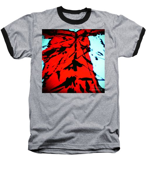 Red Owl Watching Over Me Baseball T-Shirt