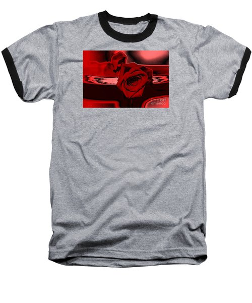 Red Passion. Rose Baseball T-Shirt