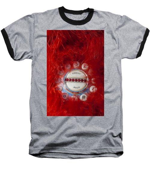 Red Phone For Emergencies Baseball T-Shirt