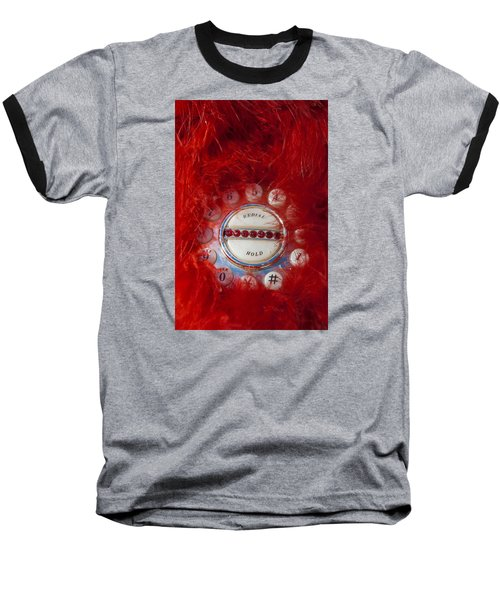 Red Phone For Emergencies Baseball T-Shirt