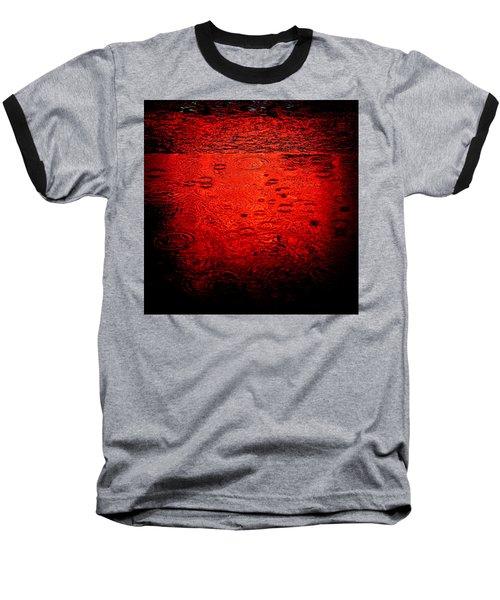 Red Rain Baseball T-Shirt