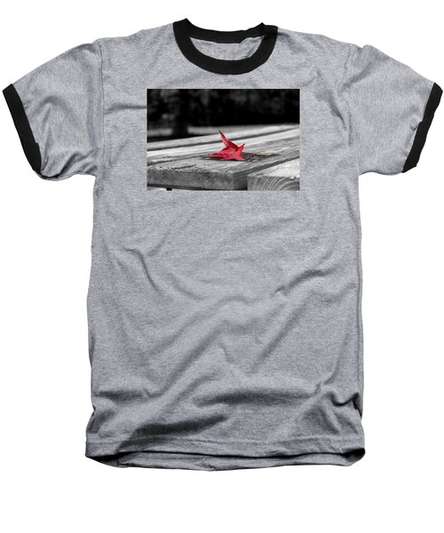 Baseball T-Shirt featuring the photograph Red by Rebecca Davis