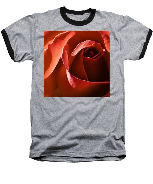 Red Red Rose Baseball T-Shirt
