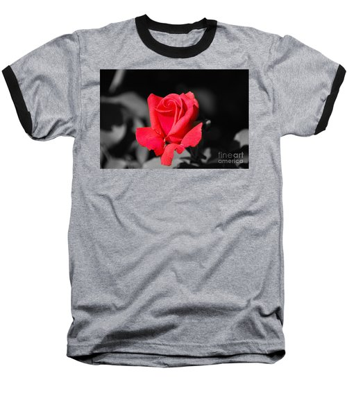 Red Red Rose - Sc Baseball T-Shirt