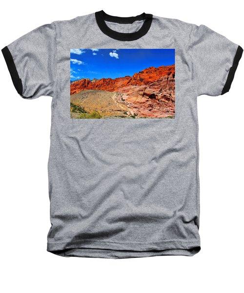 Red Rock Canyon Baseball T-Shirt