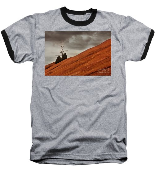 Baseball T-Shirt featuring the photograph Red Rock by Dana DiPasquale