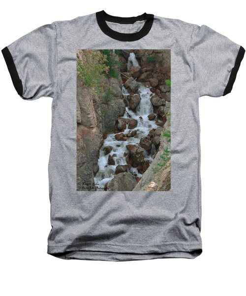 Red Rock Falls Baseball T-Shirt
