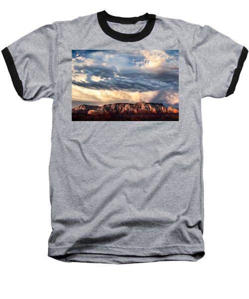 Red Rocks Of Sedona Baseball T-Shirt