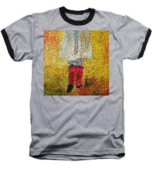 Red Rubber Boots Baseball T-Shirt