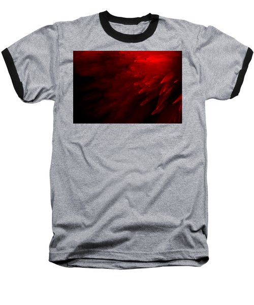 Baseball T-Shirt featuring the photograph Red Skies by Dazzle Zazz