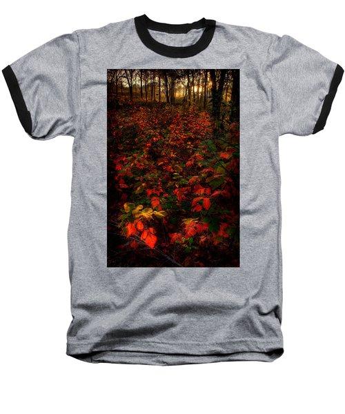 Red Sumac Baseball T-Shirt