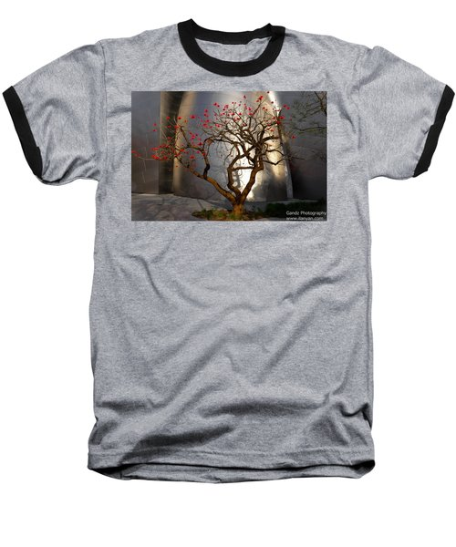 Red Tree  Baseball T-Shirt