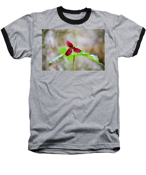 Red Trillium Baseball T-Shirt
