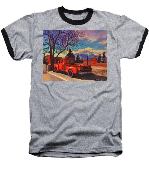 Red Truck Baseball T-Shirt