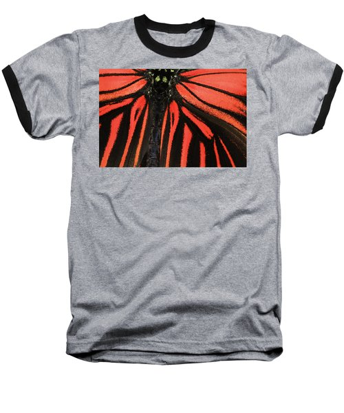 Baseball T-Shirt featuring the photograph Red Wings by Sonya Lang