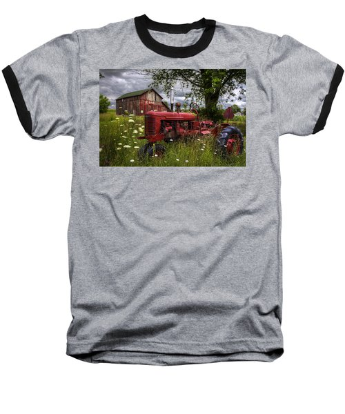 Reds In The Pasture Baseball T-Shirt