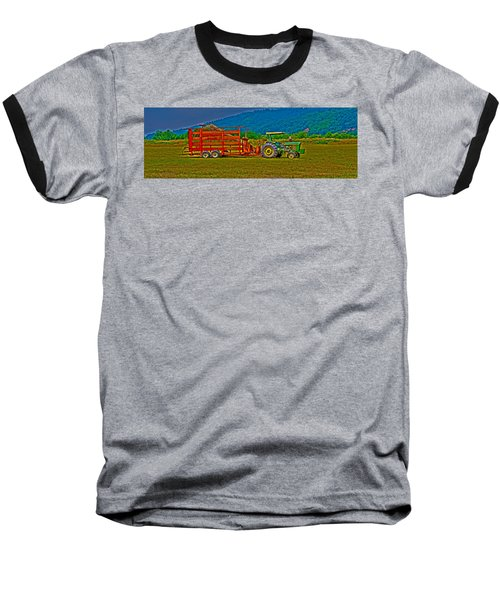 Redwood Ca Baseball T-Shirt by Richard J Cassato