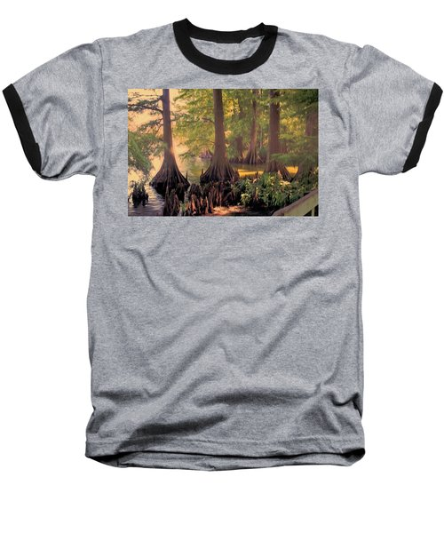 Reelfoot Lake At Sunset Baseball T-Shirt