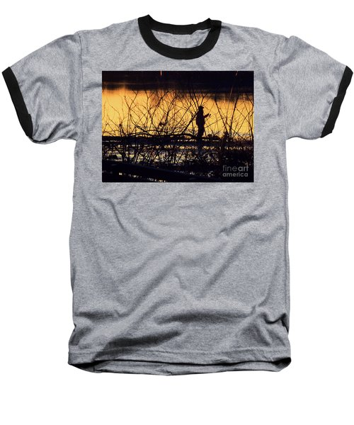 Reeling In A New Day Baseball T-Shirt