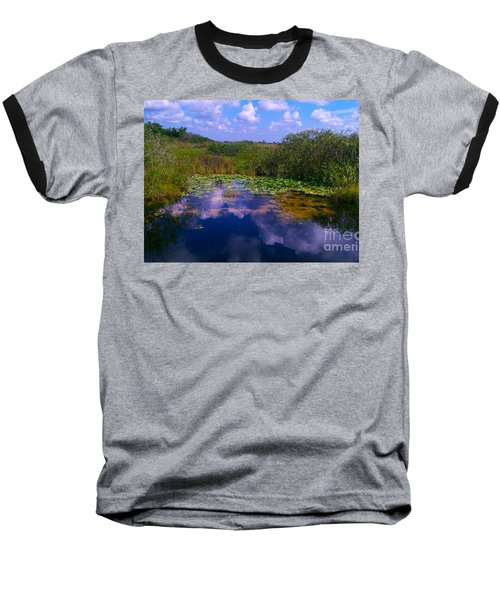 Reflecting In The Glades Baseball T-Shirt