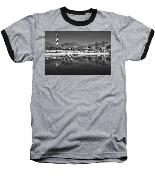 Reflecting Lighthouse  Baseball T-Shirt