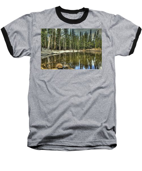 reflecting pond Carson Spur Baseball T-Shirt
