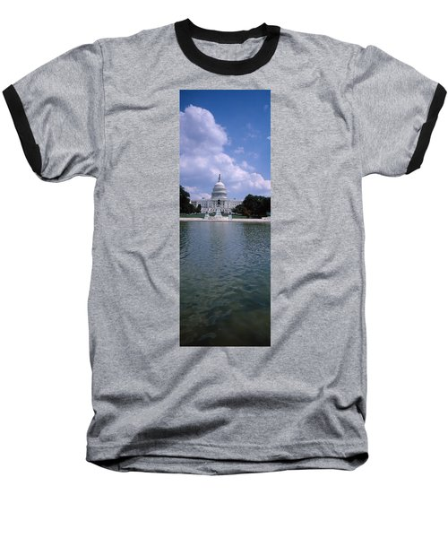 Reflecting Pool With A Government Baseball T-Shirt by Panoramic Images