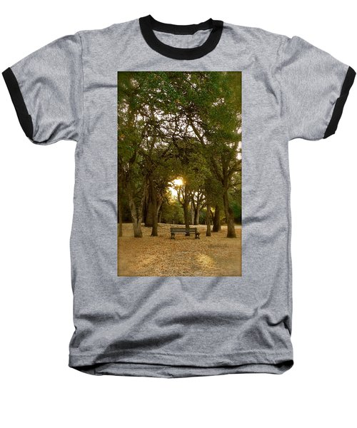 Reflection At Sunrise Baseball T-Shirt