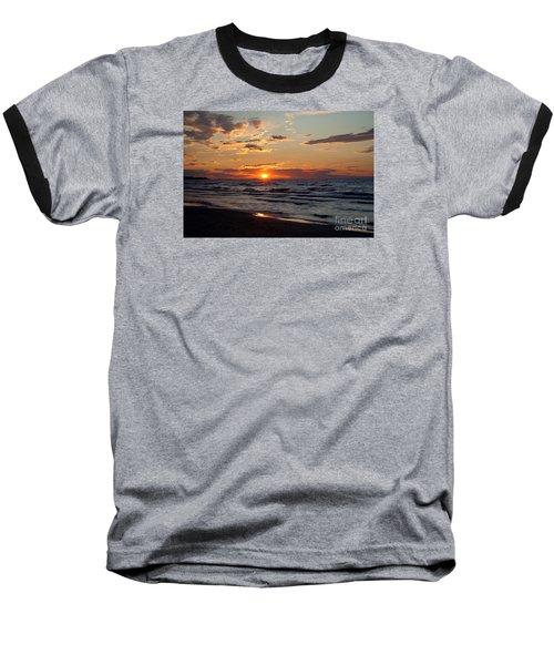 Baseball T-Shirt featuring the photograph Reflection by Barbara McMahon
