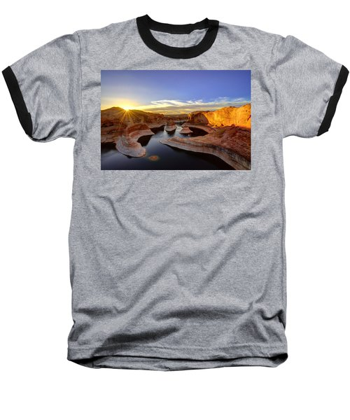 Reflection Canyon Sunrise Baseball T-Shirt
