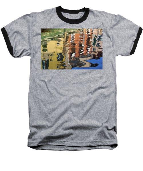 Reflection In A Venician Canal Baseball T-Shirt