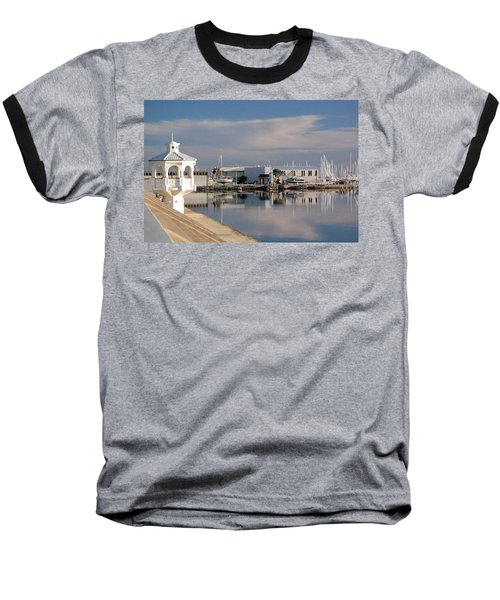 Baseball T-Shirt featuring the photograph Reflection by Leticia Latocki