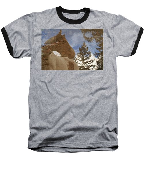 Upon Reflection Baseball T-Shirt by Michelle Twohig
