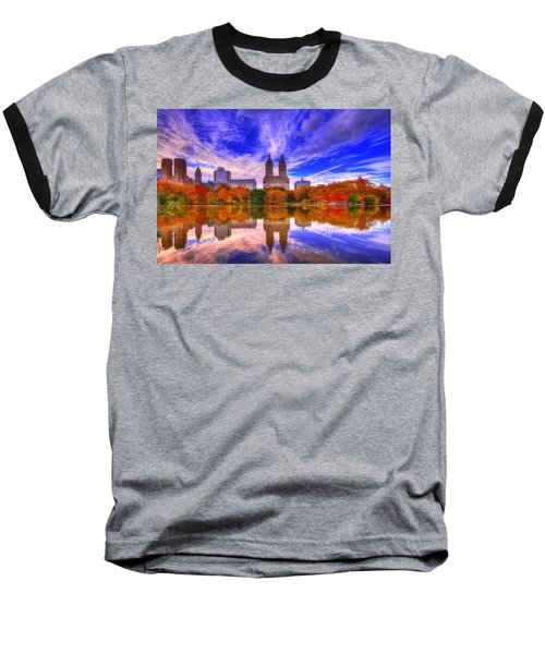 Reflection Of City Baseball T-Shirt