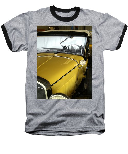Reflection Of The Past Baseball T-Shirt by Bill Gallagher